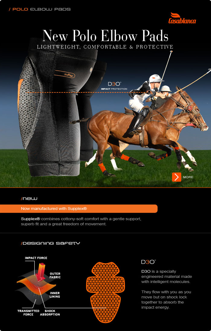 New Polo Elbow Pad