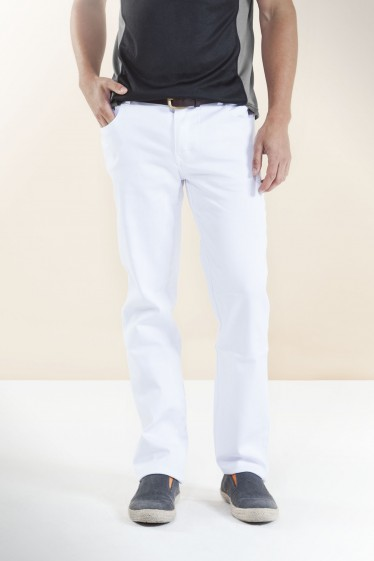 Italian Straight Fit Pants Stone