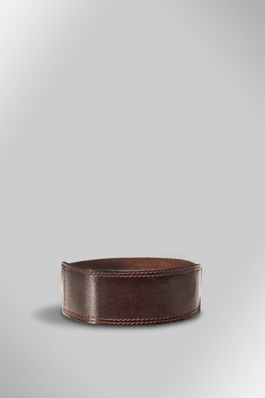 Detachable Leather Velcro strap (Chocolate)